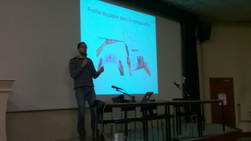 Franck Amadieu à la Journée départementale des professeurs documentalistes le 16 janvier à Nantes